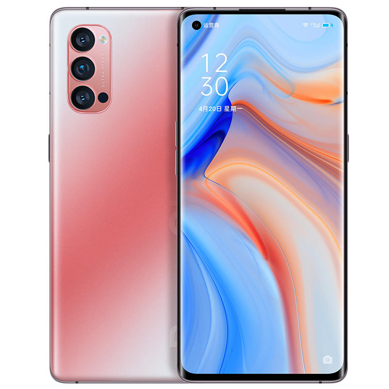 Oppo Reno 4 Pro 5G Smart Phone Snapdragon 765G 48.0MP+13.0MP+12.0MP+32.0MP 90HZ Screen 65W Fast Charge 12GB RAM 256GB ROM