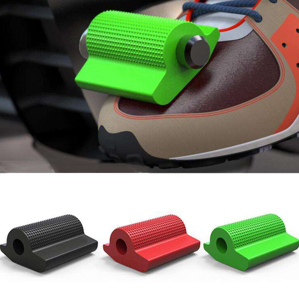 Universal Motorcycle Shift Gear Lever Pedal Rubber Cover Shoe Protector Foot Peg Toe Gel for Honda Kawasaki Yamaha Accessory