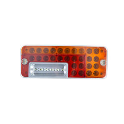bus tail light 10inch three colour LED combination STT backup turn signal tail lamp light