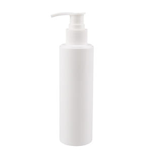 Household personal care 100ml 200ml 300ml 500ml cosmetic packaging empty pe plastic pump bottle