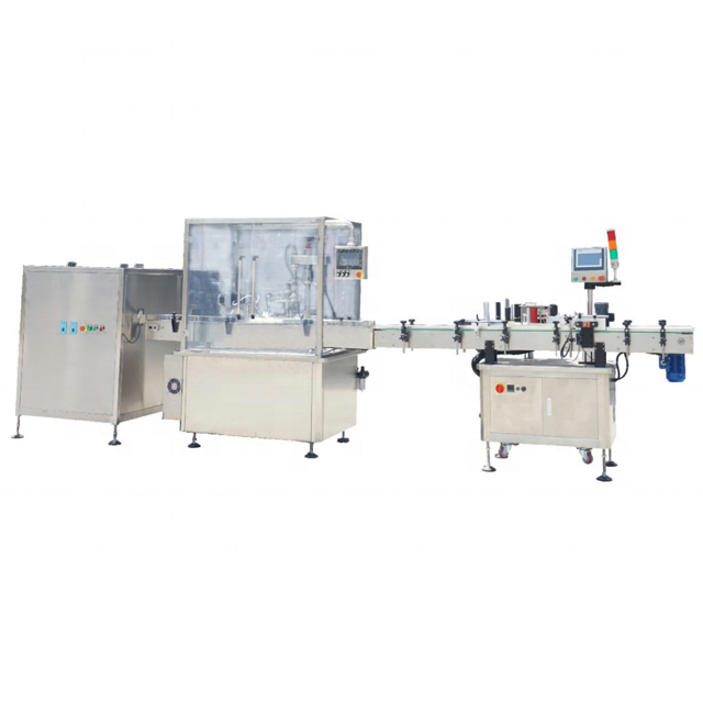 China Manufacturing High Speed Eye Drop Filling Line Filling Machine