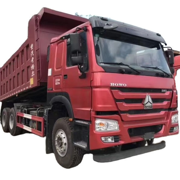 LNG/CNG/Diesel Sinotruck Heavy Duty Howo 31 ton 8*4 discarica ribaltabile