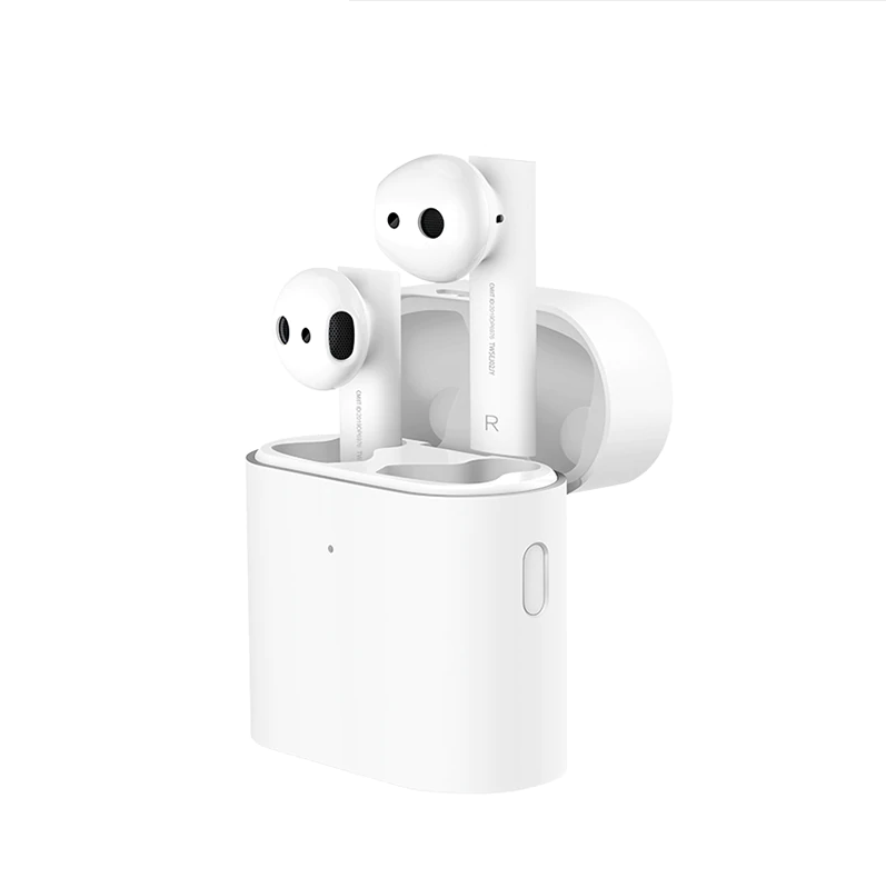 1:1 untuk Xiaomi Airdots Pro Air2 Earphone Mini Tws Wireless Bluetooth Airdots2 Headset Terhubung Jeda Tekan Kontrol Udara 2 Earphone
