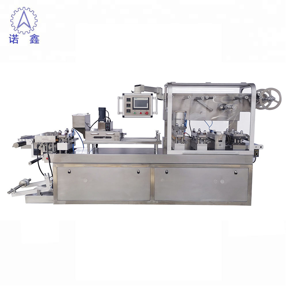 DPB-320 Convenient capsule coffee blister packaging machine