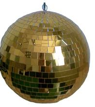 RTS 30CM Gold Rotating Mirror  Disco Ball for Decoration