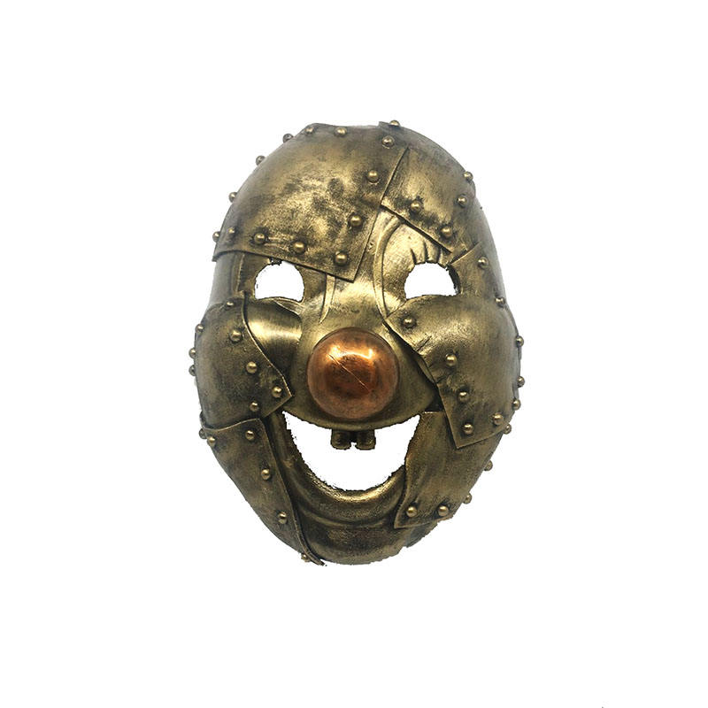 Mr Yi' s Steamland Steampunk Horror Party Clown Masker