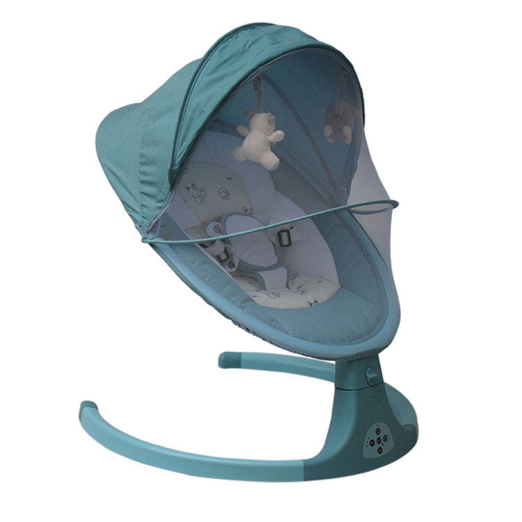 Oem Baby Swing Chair Multi-functional Adjustable Baby Rocking Bed And Swing Folding Infant Chair And Swing With Music