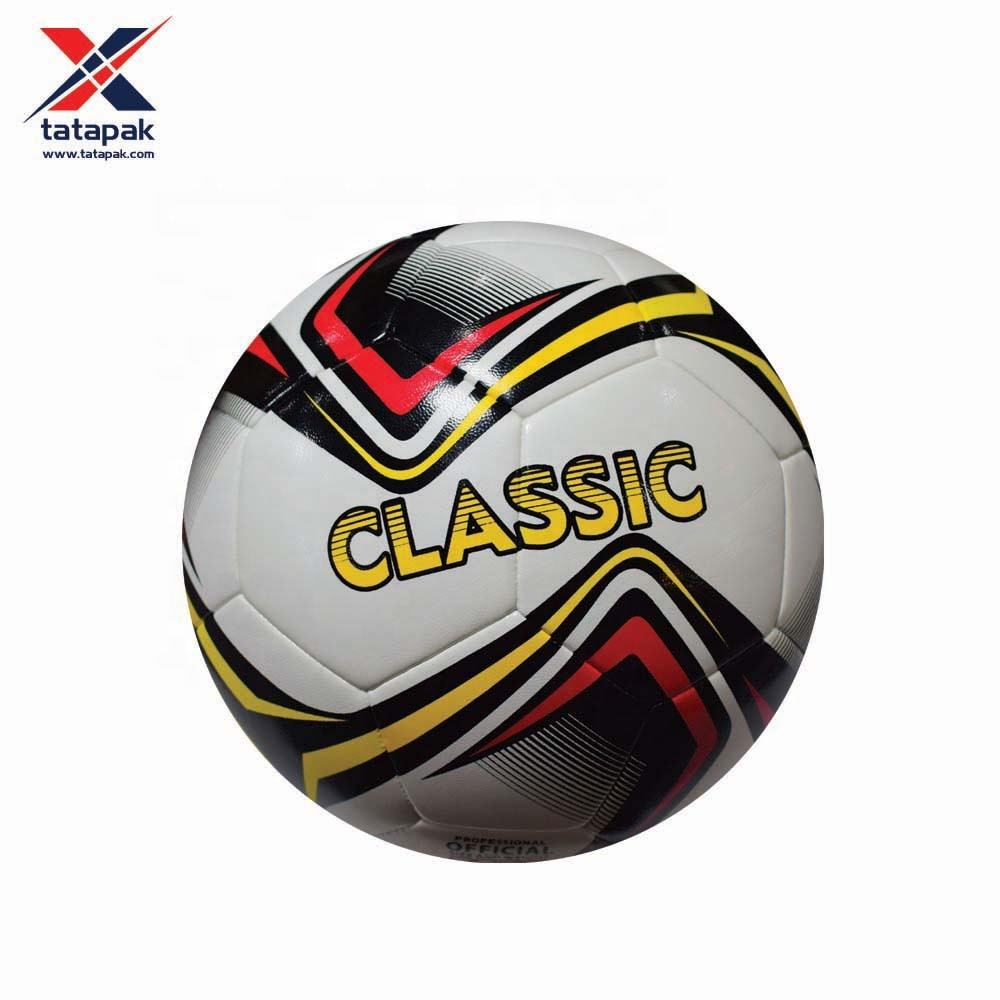 Environment friendly inflatable pvc soccer ball