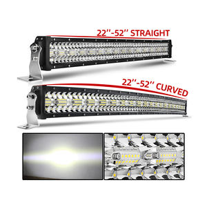 Wholesale Factory Price Super Bright Triple Row 4x4 22 32 42 50 52 Inch ATV SUV Offroad Truck Led Light Bar For Car