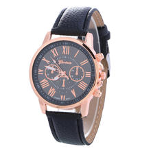 2020 Fashion China Cheap Price Wholesale Geneva Women/Man Watch Leather Watch CCW1008