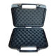 PP Material Small Injection Molded Plano Hard Plastic Pistol Short Hand Gun Carry Case