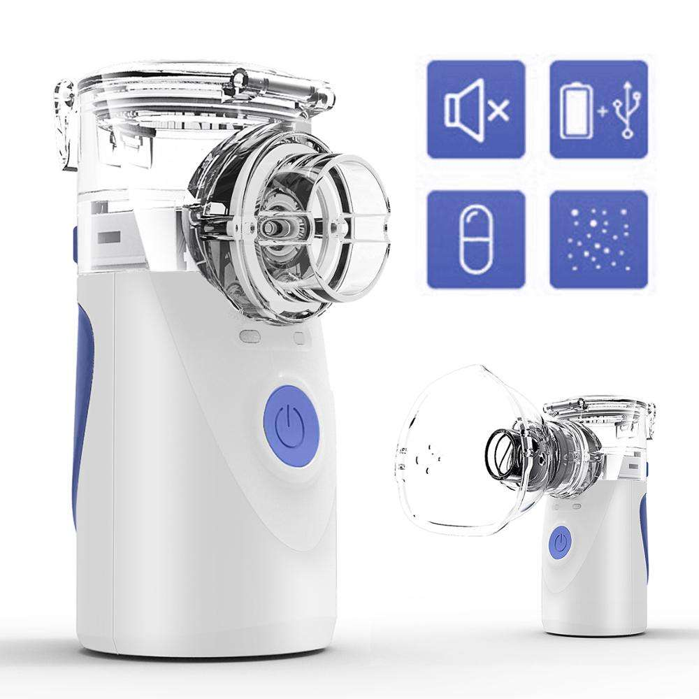 Medical Equipment manufacturer ultrasonic portable inhaler mesh nebulizer for homecare