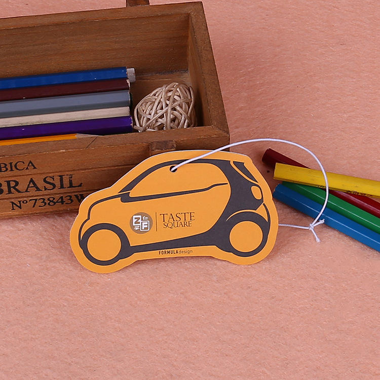 private label custom design car air freshener funny cardboard air freshener for home