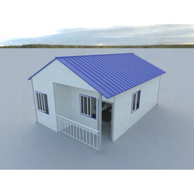 Longer Service Life Labor Camp Prefab Bungalow Waterproof Modular Prefabricated Houses