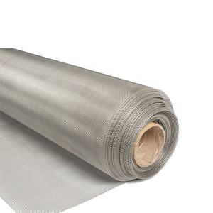 Plain Woven Ultra Fine SUS 304 25 50 100 150 200 300 400 500 Micron Stainless Steel Filter Mesh/Silk Screen