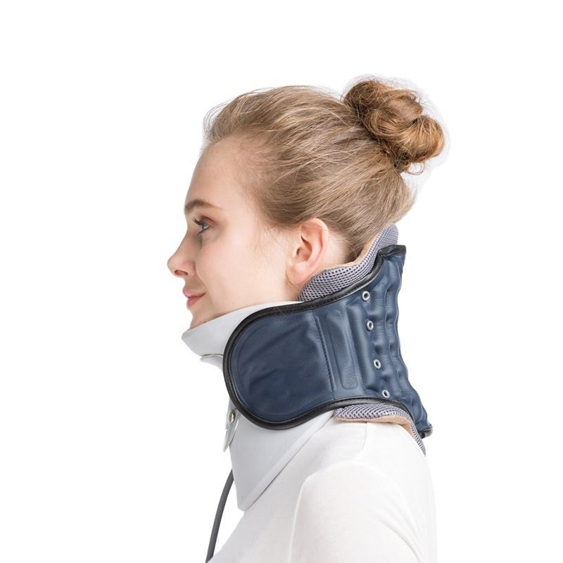 Top products medical adjustable neck wrap support cervical traction support