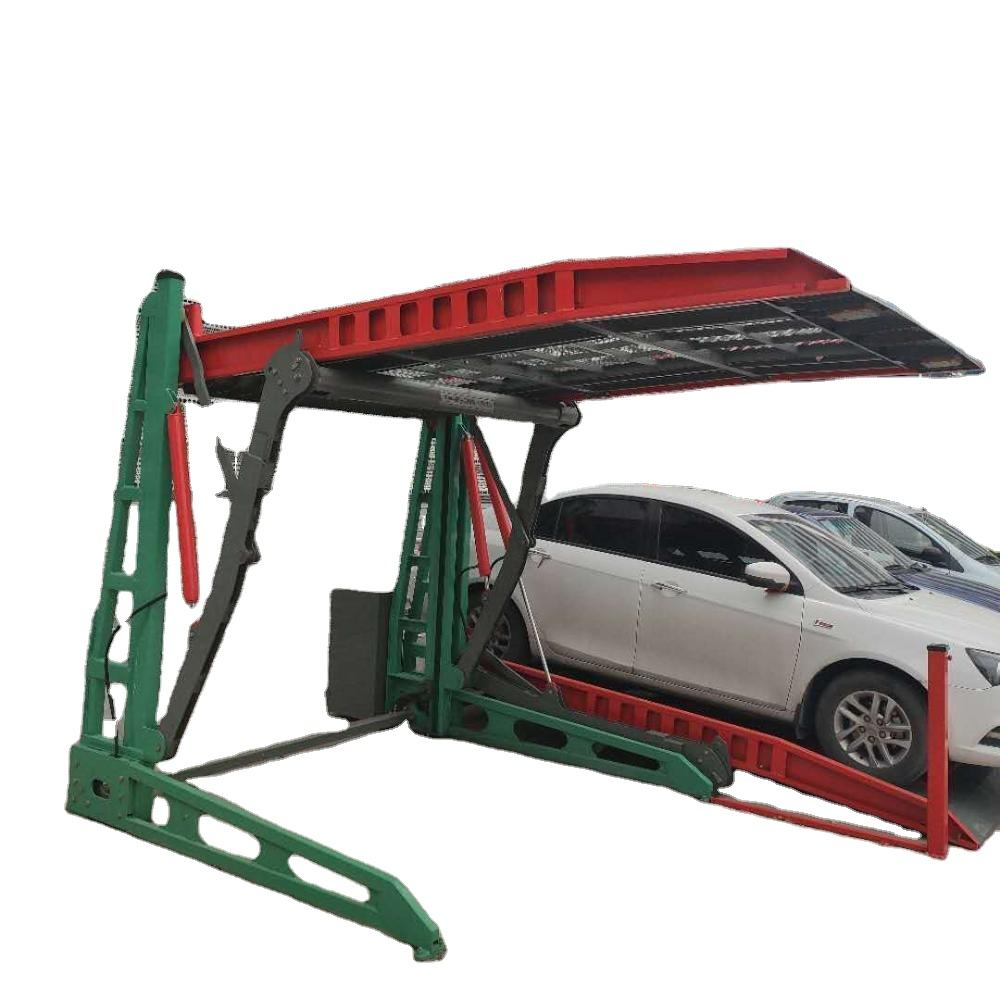 CE approved hydraulic two car parking 2 post car lift