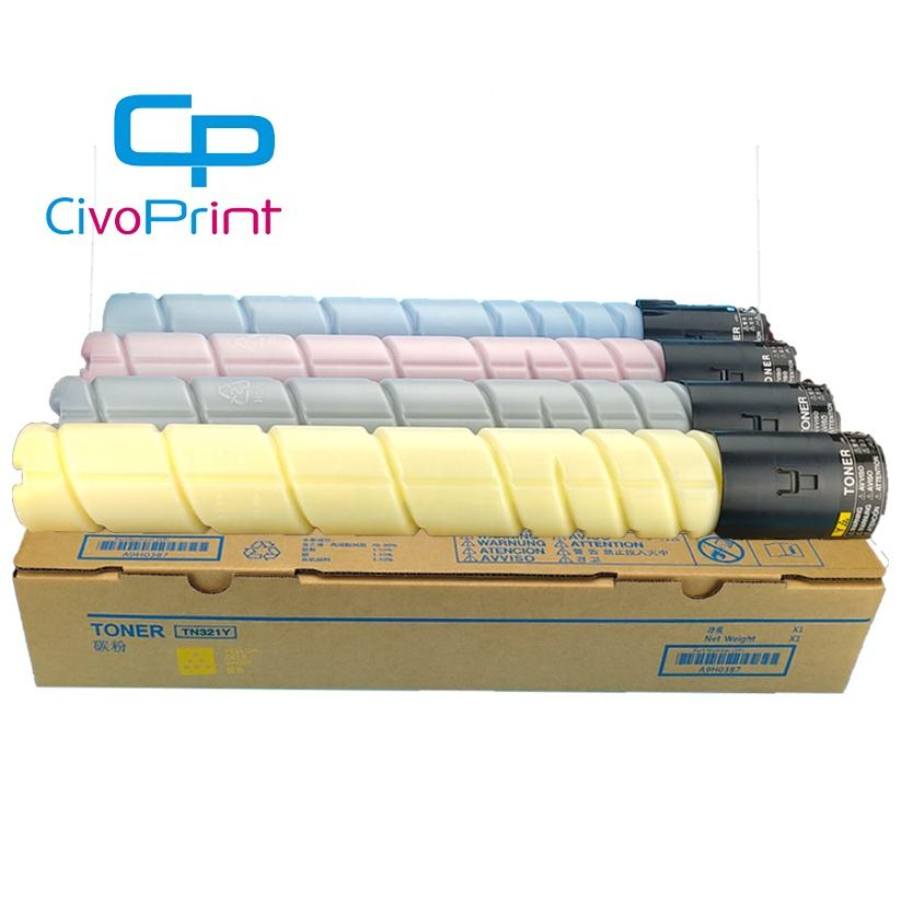 Civoprint compatible C224e C364e bizhub c224 C364 toner cartridge colour tn 321 tn321 copier toner cartridge for konica minolta