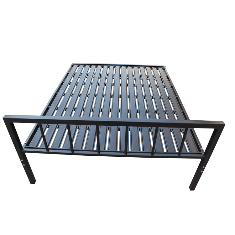 OEM Factory metal bed frame queen