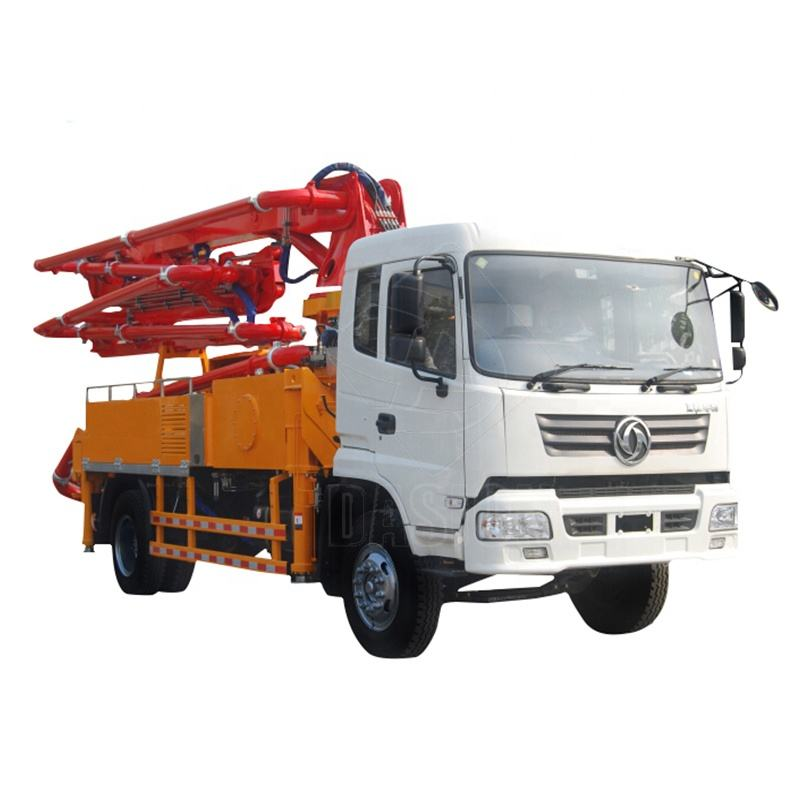 Widely used howo chassia cifa junjin concrete pump truck for sale