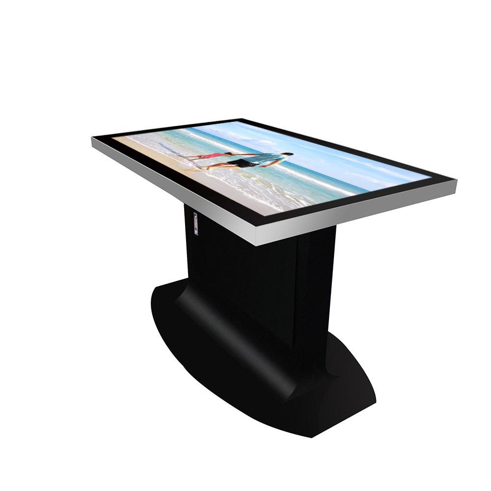 55 pollici interattivo redazione capacitivo gioco multi android di windows smart <span class=keywords><strong>LCD</strong></span> touch screen di caffè ristorante sala da pranzo tavolo di riunione