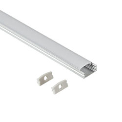 6063Aluminum alloy led strip light channel for wall polished