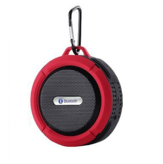 Best Quality Waterproof Wireless Bluetooth Speaker With Perfect Sound Quality Suction Cup Rubber Speaker