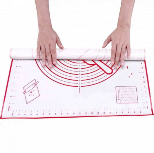 2020 Không Dính Silicone Pastry Mat Silicone <span class=keywords><strong>Baking</strong></span> Mat <span class=keywords><strong>Set</strong></span>