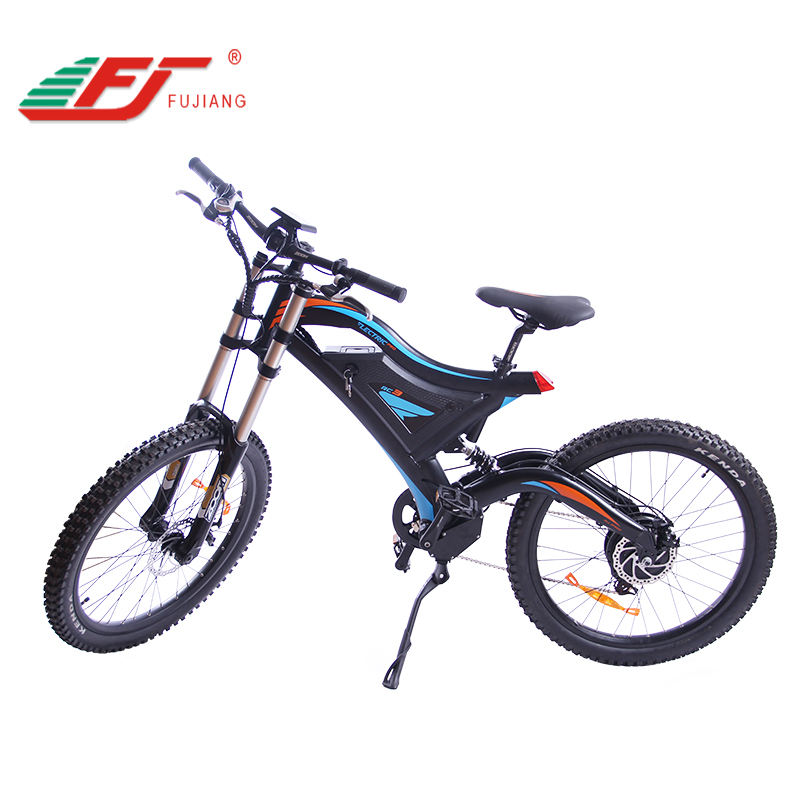 Nieuwe hot verkoop 26inch mtb full suspension elektrische motocross e bike