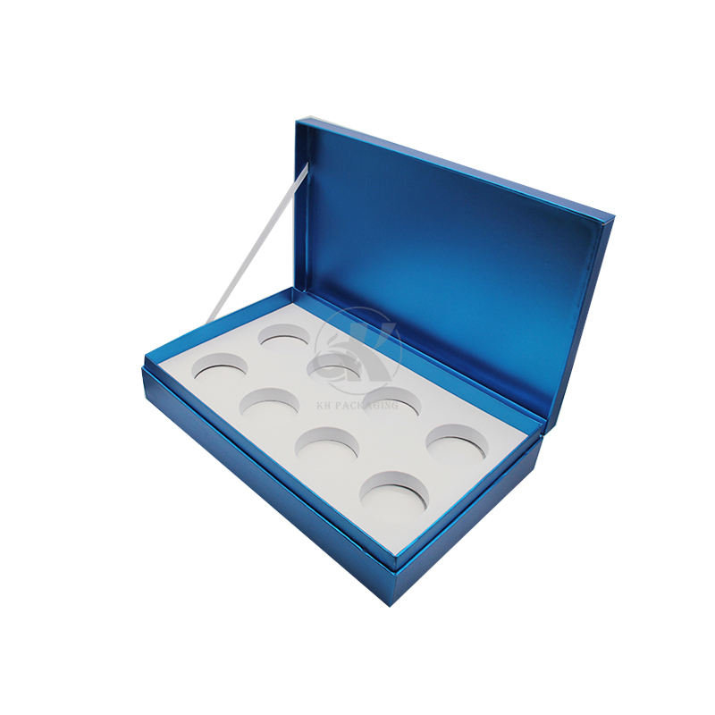 Deluxe Quartz Stone Display Box Custom Rigid Cardboard Box for Gift Pack