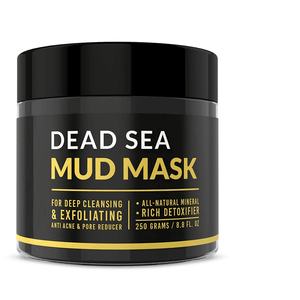 Natural Organic Deep Moisturizing Black Facial Mask Anti Aging Dead Sea Mud Mask