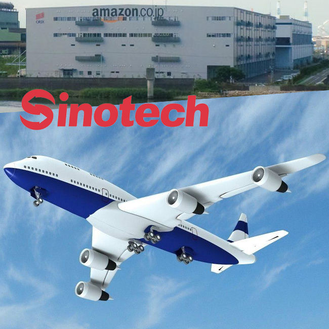 Cheap FBA shipment Amazon FBA forwarder from china to japan Professional air shipping agent Sinotech Logistics