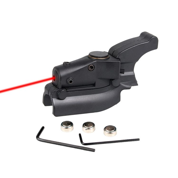 Tactical Red Dot Picatinny Rail Laser Sight