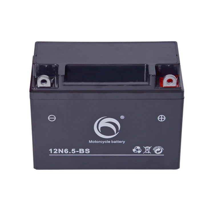 Guangdong Kejian 12v 6.5ah MF 12n6.5 3b motorcycle battery