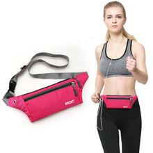 Wholesale Cheap Outdoor Sport Running Waist Bag Multifunction Waterproof Fanny Pack Bum Bag With Custom Logo