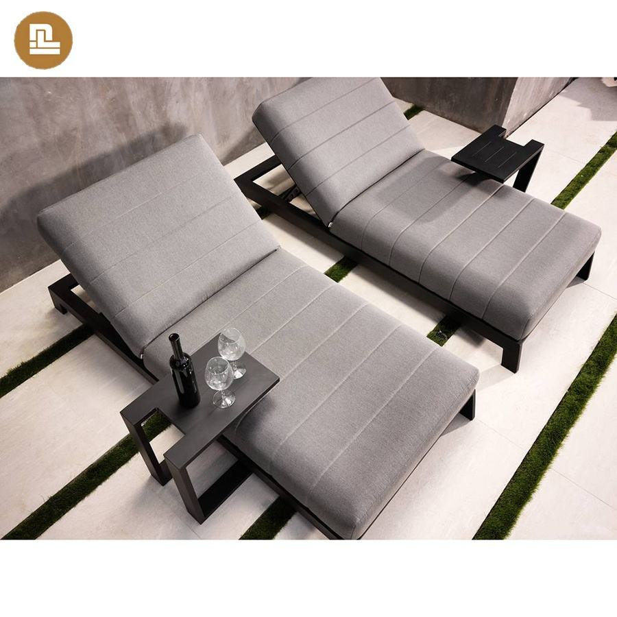 All Waterproof and UV Resistant upholstery fabric outdoor lounge bed garden lounger