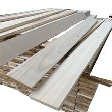 wholesale price paulownia plank of solid wood
