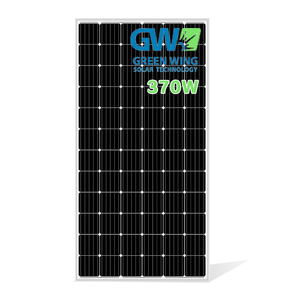 USA Warehouse In Stock Solar 370w Mono Solar Panel PV Solarpanel Module