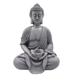 Custom size polyresin buddha statues outdoor  resin hand sculpture buddha statue large for garden/