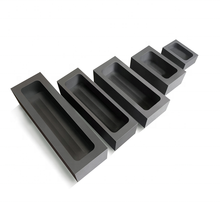 Customized graphite mold for gold silver ingot precious metal casting