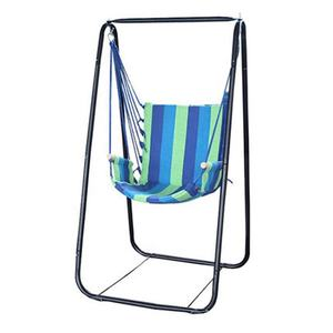 Hanging Rope Swing Hammock Chair with Stand