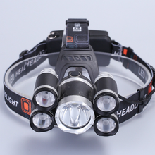 2019 New product rechargeable DC LED headlight headlamp for running
