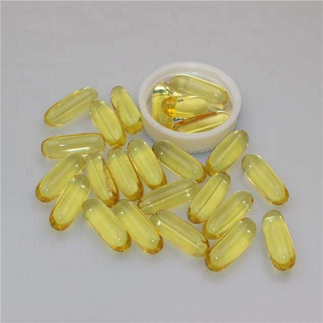 Vegan/Halal EPA DHA 1000mg Omega 3 Fish Oil Softgel