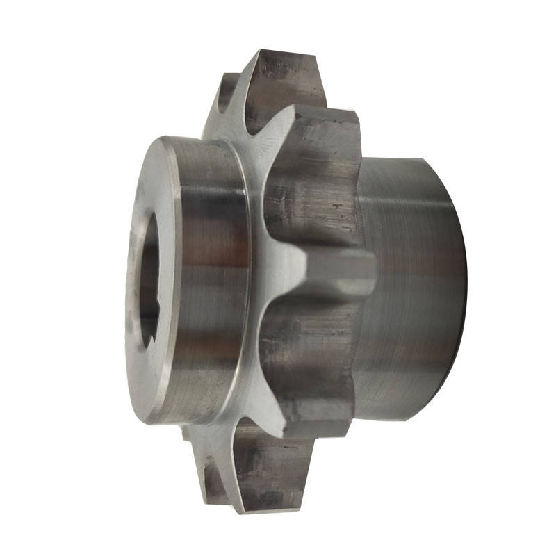 Zinc plated gear motor sprocket