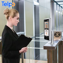 Technical Support Telpo biometric device facial recognition lock door access control system punching card for employees