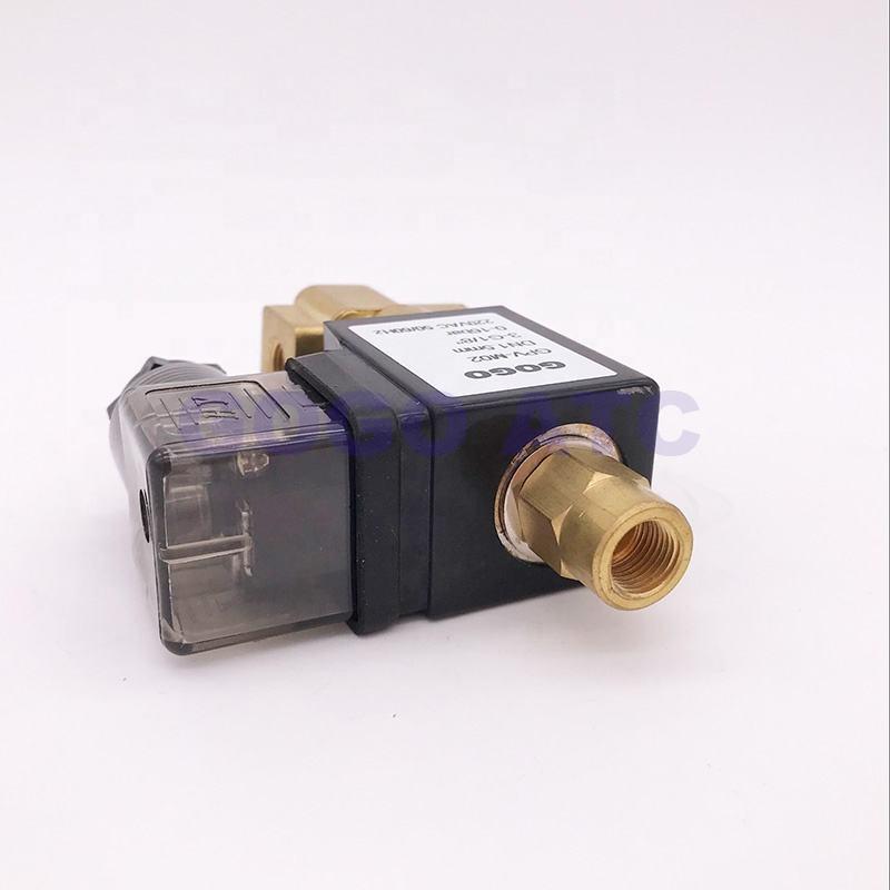 """G1/"""" BSP 220V AC 2W-250-25 25mm Solenoide Válvula de agua electrónica Orificio"""