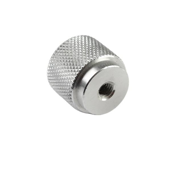 OEM Cnc Turned Parts Machining Custom made precision aluminum knurled knob
