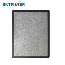 H13 hepa filter with activated charcoal for air cleaner