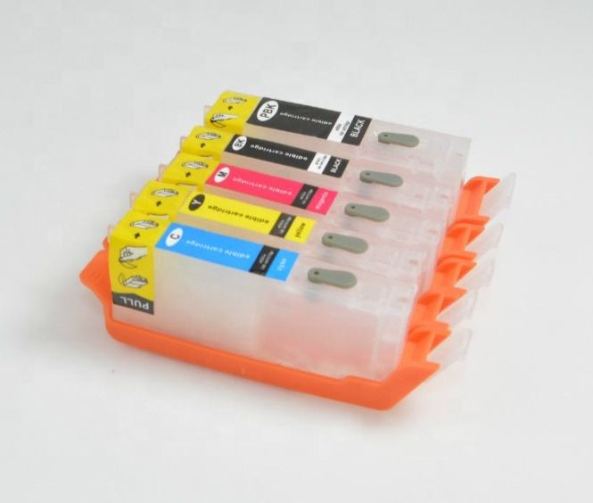 ARC chip for PGI 580 581 Refill ink cartridge for Canon TS9550 TS9551C TS6251 Reset cartridge