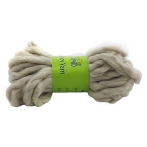 China roving yarn manufacturer smb popular wholesale 100g skeins hand knitting wool thick roving yarn super wool yarn